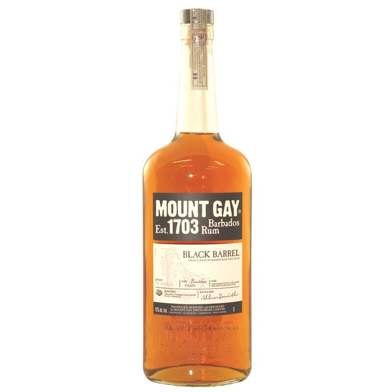 from Colton mount gay 1703 cask rum