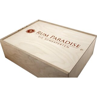 Rum Paradise Geschenkbox Plantation Rum Barbados Extra Old 20th