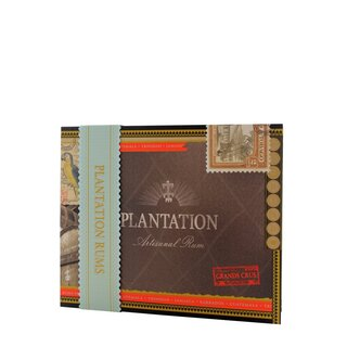 Plantation Cigar-Box mit 6 Rums (6x0,1l)