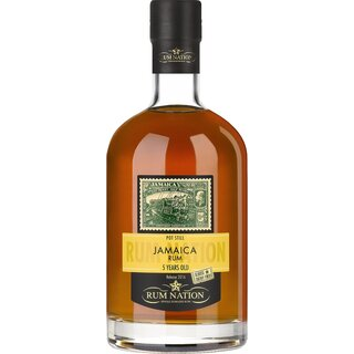 Rum Nation Jamaica 5  Jahre Oloroso Sherry Finish