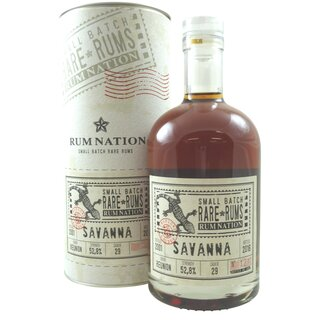 Rum Nation Rare Rum Savanna 15 Jahre