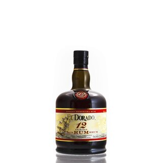 El Dorado Rum 12 Years old - Tasting-Flasche 4cl