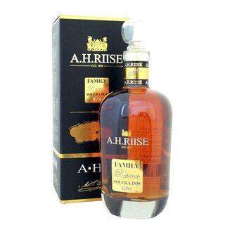 A.H. Riise Rum Family Reserve Solera - Tasting-Flasche 4cl