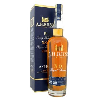 A.H. Riise XO Royal Reserve Kong Haakon Special Edition - Tasting-Flasche 4cl
