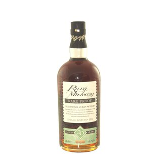 Malecon Rum 20 Jahre Rare Proof - Tasting-Flasche 4cl