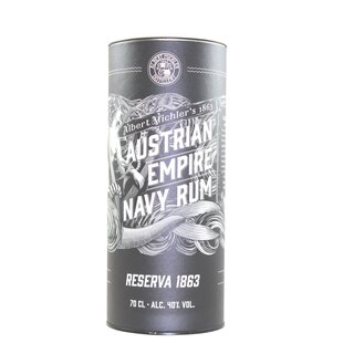 Austrian Empire Navy Rum Reserve 1863 - Tasting-Flasche 4cl