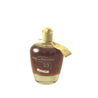 Kirk and Sweeney 23 Years Dominican Rum - Tasting-Flasche 4cl