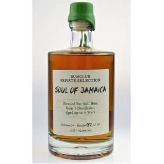 Rumclub Soul of Jamaica - Tasting-Flasche 4cl