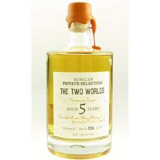 Rumclub The two Worlds - Tasting-Flasche 4cl