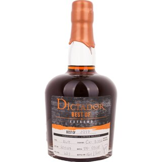 Dictador Best of 1977 Vintage Single Cask Rum