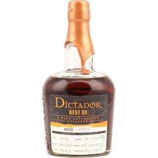 Dictador Best of 1982 Vintage Single Cask Rum