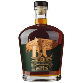 BC Reserve Collection Caribbean Dark Rum 8YO