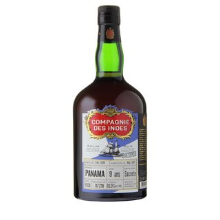 COMPAGNIE DES INDES Panama 9 ans Rum - Tasting-Flasche 4cl