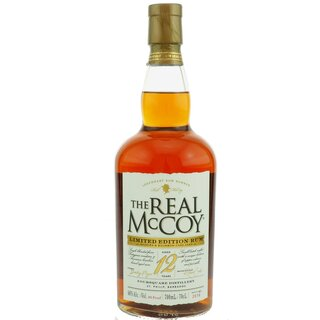 The Real McCoy 12 YO Limited Edition Madeira Cask