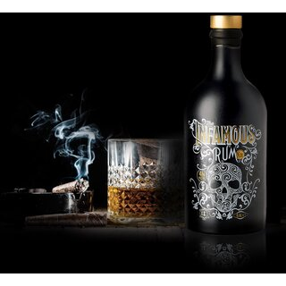 The Infamous N° 01 Premium Spiced Rum - Tasting-Flasche 4cl