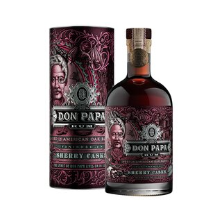 Don Papa Rum Sherry Cask in Geschenkbox