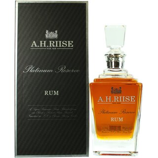 A.H. Riise Platinum Reserve Rum Small Batch No. 1