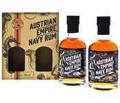 Austrian Empire Navy Rum Reserve 1863 + 18YO 2x 200ml mit GB