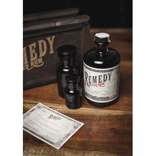 Remedy Spiced Rum - Tasting-Flasche 4cl