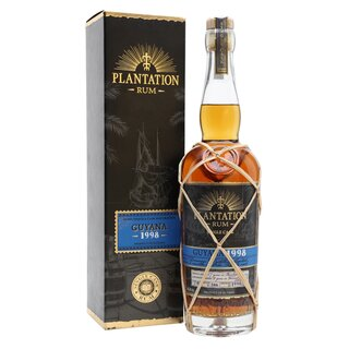 Plantation Rum Guyana 1998/2018 Single Cask Ocho Tequila - Tasting-Flasche 4cl