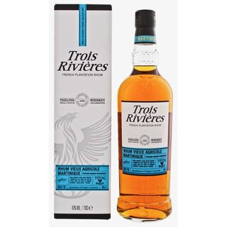 Trois Rivières Rhum Vieux Teeling Whiskey Finish - Tasting-Flasche 4cl
