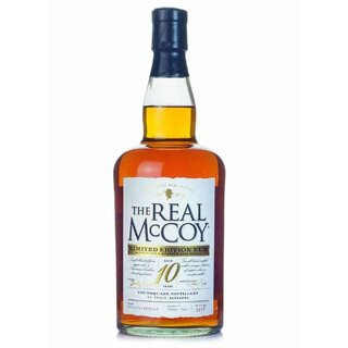 The Real McCoy 10 YO 46% - Tasting-Flasche 4cl