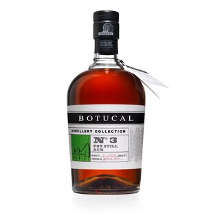 Botucal Distillery Collection No. 3 Pot Still Rum