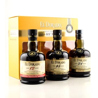El Dorado Rum The Collection Geschenkbox