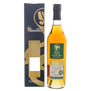Savanna Rhum Vieux Agricole Single Cask 8 YO Cognac Wood