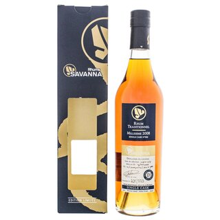 Savanna Rhum Vieux Traditionnel Single Cask 10 YO Cognac/Port Wood