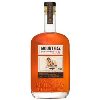 Mount Gay XO Triple Cask Blend - Tasting Flasche 4cl