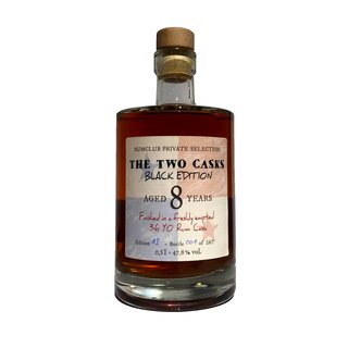 Rumclub The Two Casks Black Edition 8 Years - Tasting-Flasche 4cl