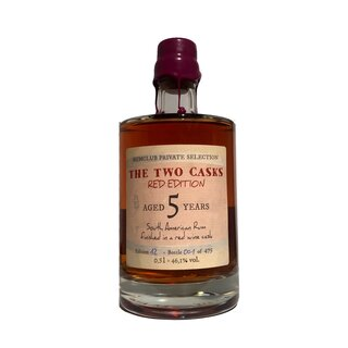 Rumclub The Two Casks Red Edition 5 Years - Tasting-Flasche 4cl