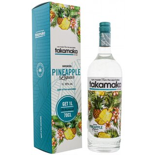 Takamaka Bay Pineapple Rum 1,0L