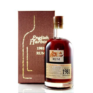 English Harbour Rum 1981 25YO