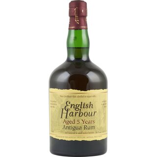 English Harbour Rum 5 Jahre