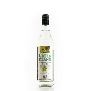 Green Island Rum Superior Light
