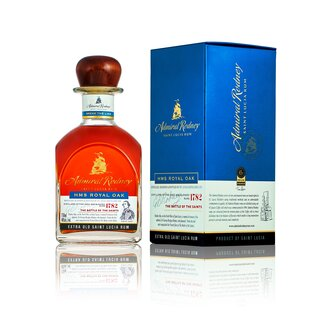 Admiral Rodney Rum HMS Royal Oak Extra Old