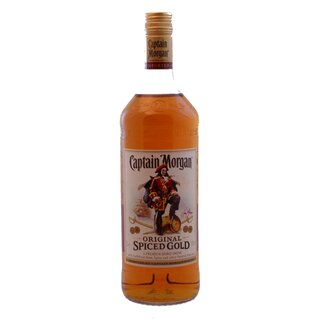 Captain Morgans Original Spiced Rum 1,0l